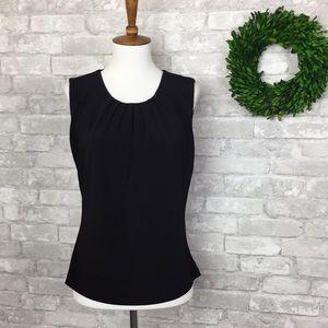 Calvin Klein Sleeveless Top Black Size 8
